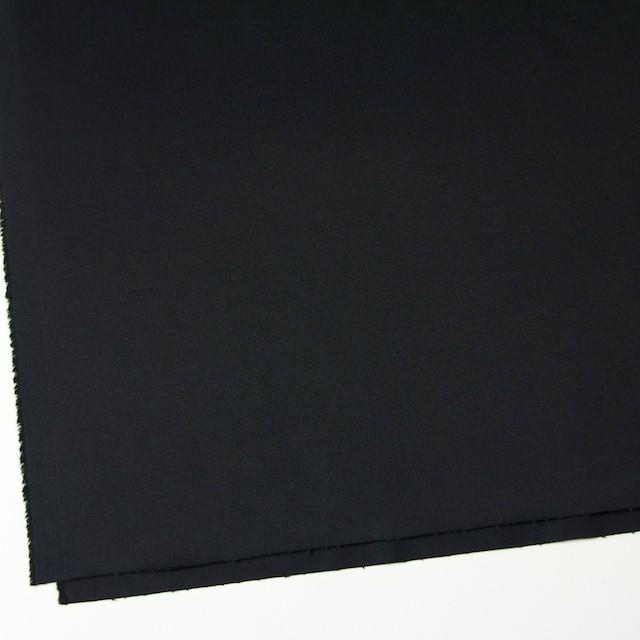 コットン&ポリウレタン×無地(ブラック)×チノクロス・ストレッチ イメージ2