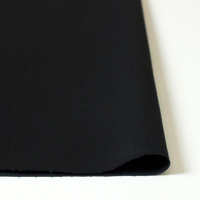 コットン&ポリウレタン×無地(ブラック)×チノクロス・ストレッチ イメージ3