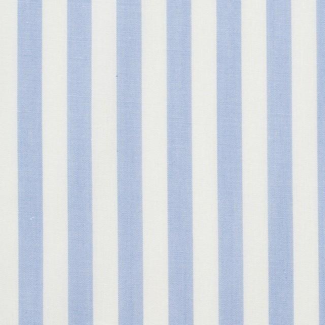 コットン×ストライプ(サックス)×ブロード_全5色 イメージ1