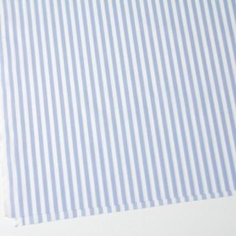 コットン×ストライプ(サックス)×ブロード_全5色 サムネイル2