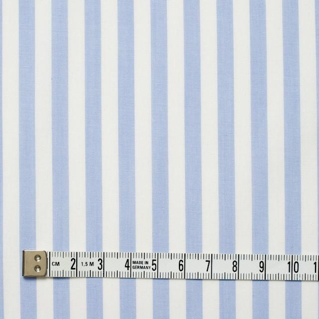 コットン×ストライプ(サックス)×ブロード_全5色 イメージ4