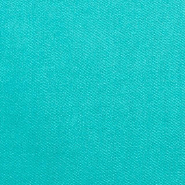 コットン×無地(エメラルドグリーン)×サテン_全3色 イメージ1