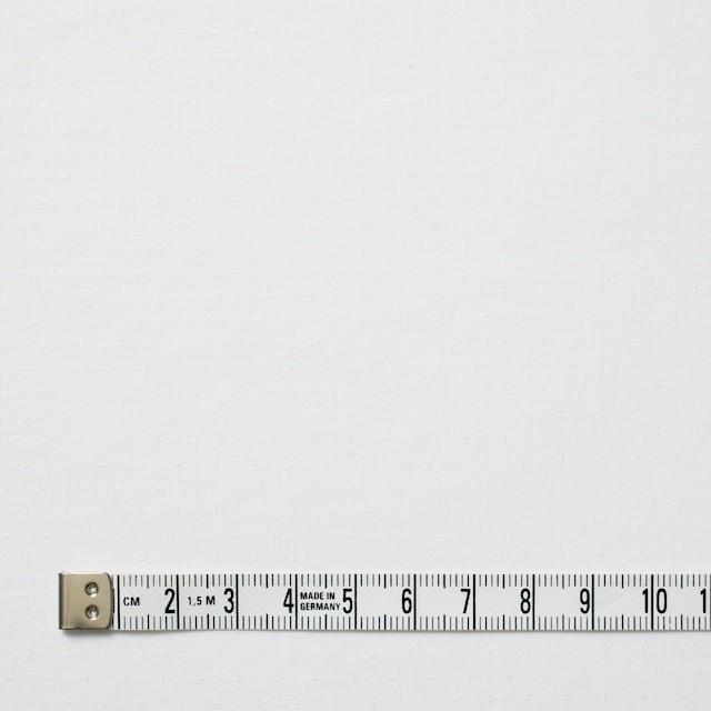 コットン×無地(ホワイト)×ローンジャガード イメージ4