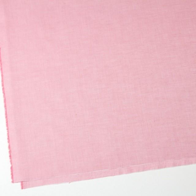 コットン×無地(ピンク)×オックスフォードシャンブレー イメージ2