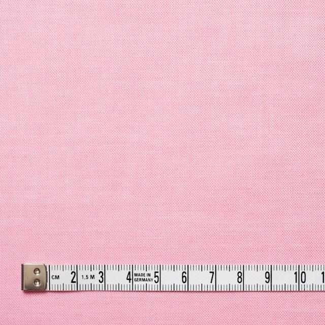 コットン×無地(ピンク)×オックスフォードシャンブレー イメージ4