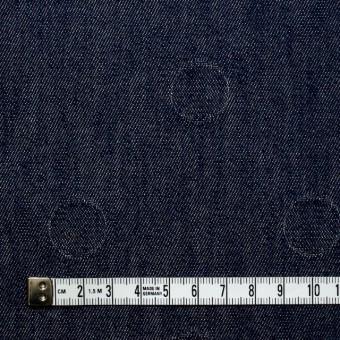 コットン×サークル(インディゴ)×デニムジャガード サムネイル4