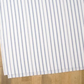 コットン×ストライプ(オフホワイト&ブルー)×ブロード サムネイル2