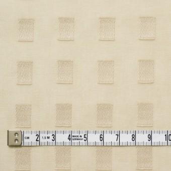 コットン×スクエア(ベージュ)×ボイルジャガード_全6色 サムネイル4