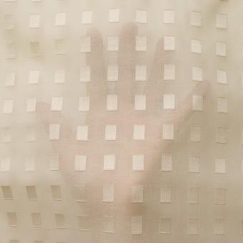 コットン×スクエア(ベージュ)×ボイルジャガード_全6色 サムネイル5