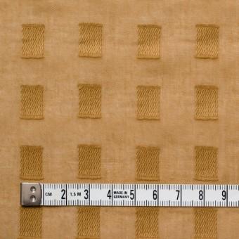 コットン×スクエア(マスタード)×ボイルジャガード_全6色 サムネイル4
