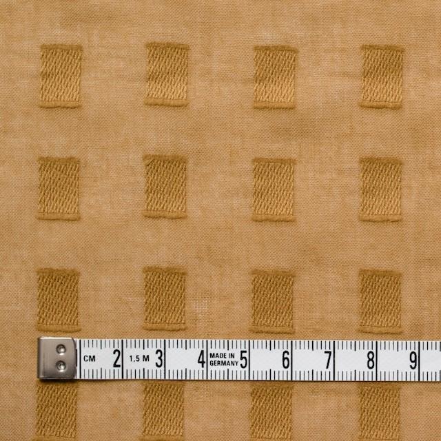 コットン×スクエア(マスタード)×ボイルジャガード_全6色 イメージ4