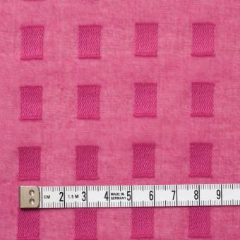 コットン×スクエア(チェリーピンク)×ボイルジャガード_全6色 サムネイル4