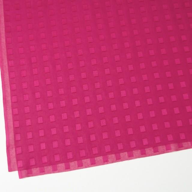 コットン×スクエア(チェリーピンク)×ボイルジャガード_全6色 イメージ2