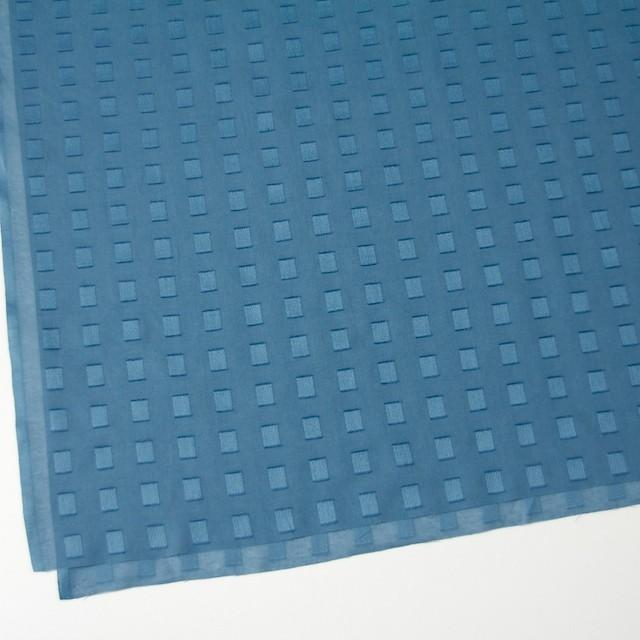 コットン×スクエア(グレイッシュブルー)×ボイルジャガード_全6色 イメージ2