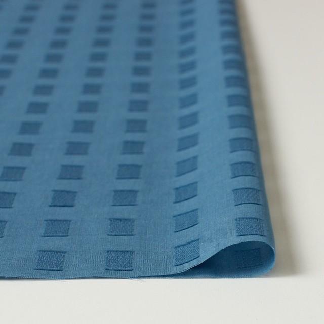 コットン×スクエア(グレイッシュブルー)×ボイルジャガード_全6色 イメージ3