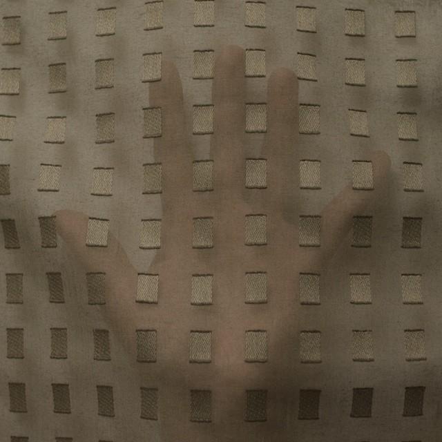 コットン×スクエア(カーキグリーン)×ボイルジャガード_全6色 イメージ5