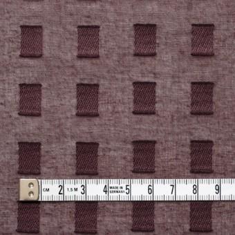 コットン×スクエア(ココア)×ボイルジャガード_全6色 サムネイル4