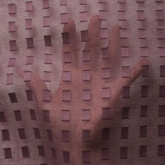 コットン×スクエア(ココア)×ボイルジャガード_全6色 サムネイル5