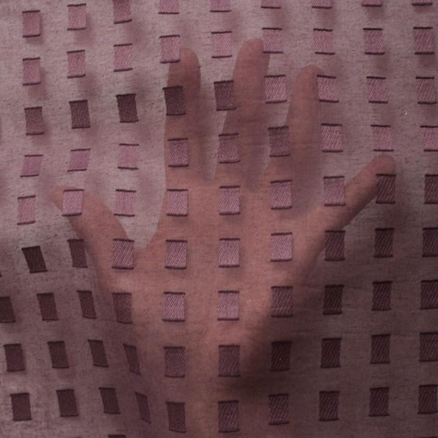 コットン×スクエア(ココア)×ボイルジャガード_全6色 イメージ5
