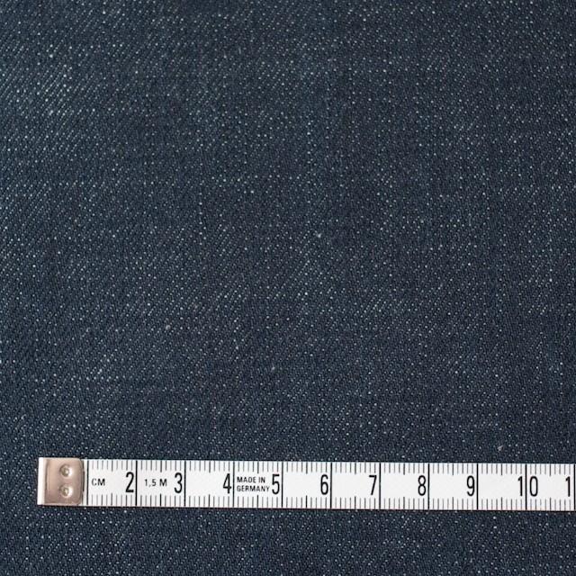 コットン×無地(インディゴ)×セルビッチデニム(12.5oz) イメージ4