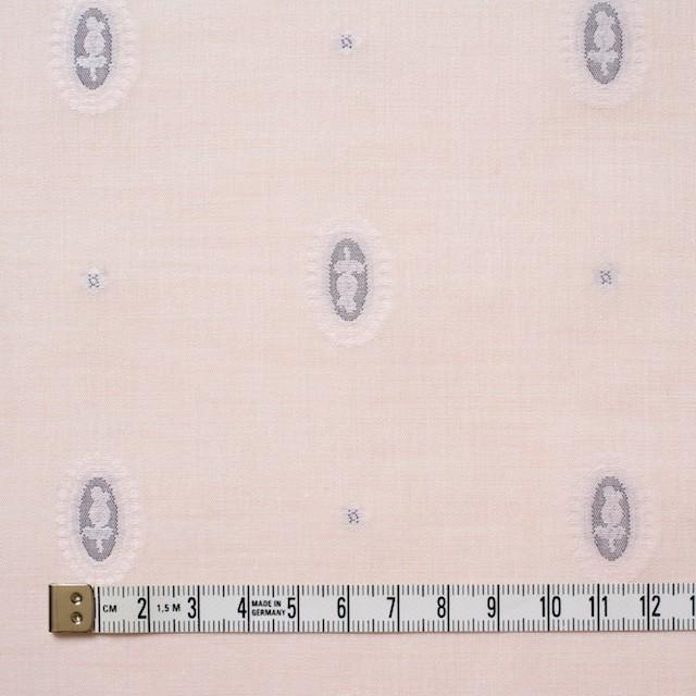 コットン×オーバル(パウダーピンク)×ボイルジャガード イメージ4