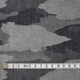 コットン×迷彩(グレーミックス)×デニムジャガード サムネイル4