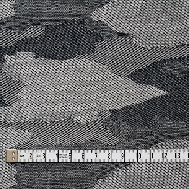 コットン×迷彩(グレーミックス)×デニムジャガード イメージ4