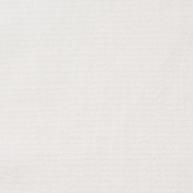 キュプラ&シルク×無地(オフホワイト)×ボイルジャガード イメージ1