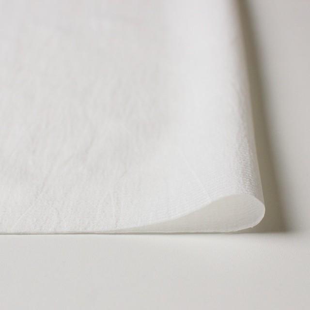 キュプラ&シルク×無地(オフホワイト)×ボイルジャガード イメージ3
