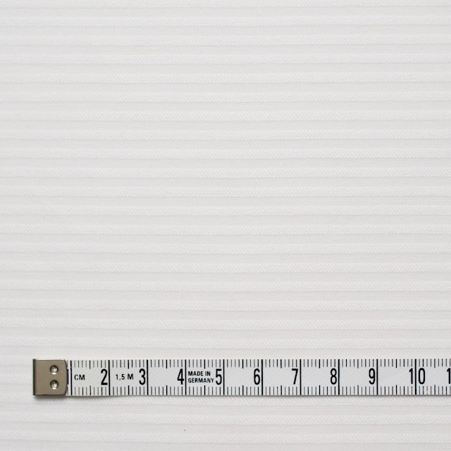 コットン×ボーダー(オフホワイト)×ボイルジャガード イメージ4