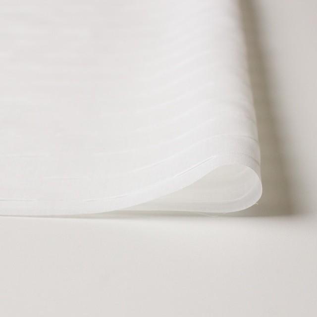 コットン×ボーダー(オフホワイト)×ボイルピンタック イメージ3