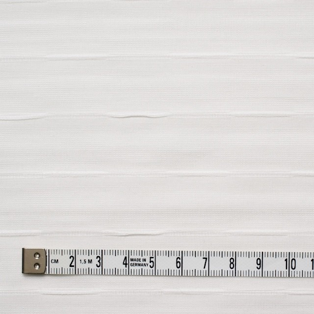 コットン×ボーダー(オフホワイト)×ボイルピンタック イメージ4