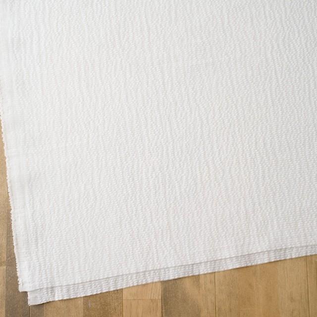 コットン&ポリエステル×ボーダー(オフホワイト)×コードレーン イメージ2