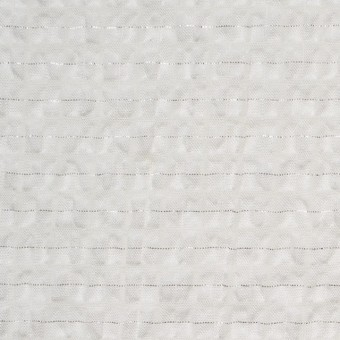 ポリエステル&コットン×チェック(オフホワイト)×サッカー サムネイル1