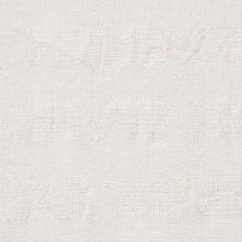 コットン&キュプラ×チェック(キナリ)×からみ織 サムネイル1
