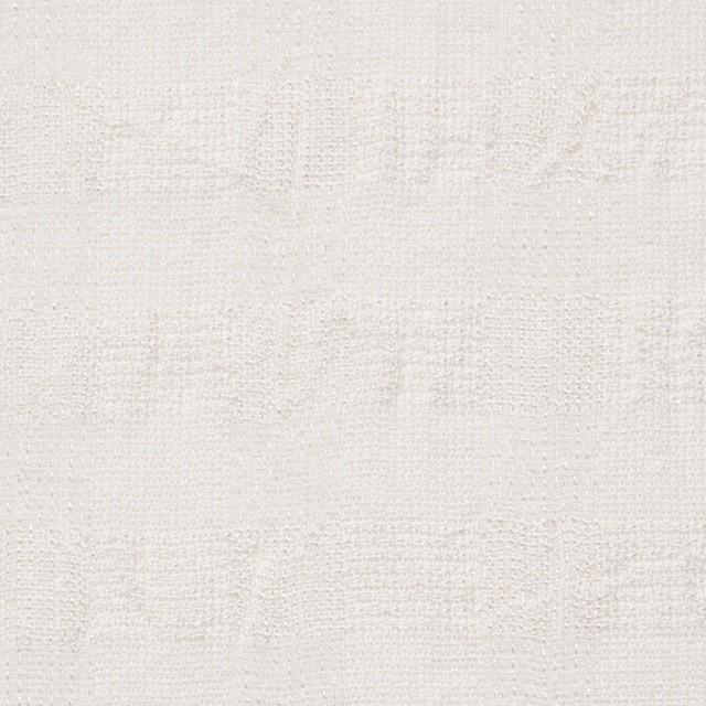 コットン&キュプラ×チェック(キナリ)×からみ織 イメージ1