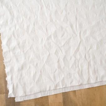 コットン&キュプラ×チェック(キナリ)×からみ織 サムネイル2