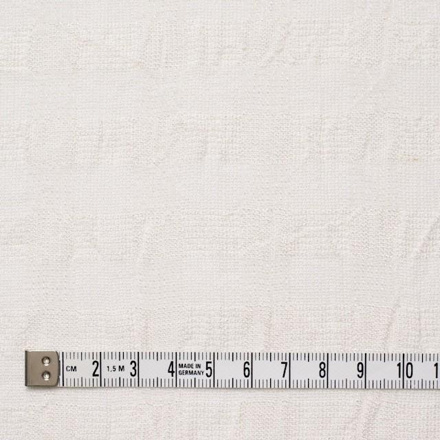 コットン&キュプラ×チェック(キナリ)×からみ織 イメージ4