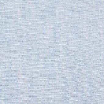リネン×無地(サックス)×シャンブレー・ローン サムネイル1