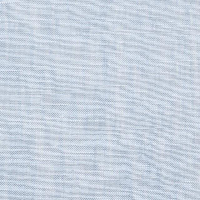 リネン×無地(サックス)×シャンブレー・ローン イメージ1