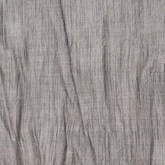 コットン&リネン混×無地(グレー)×ボイルワッシャー サムネイル1