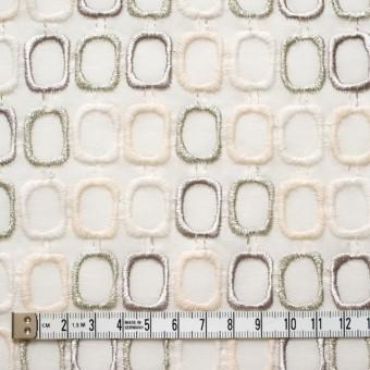 コットン×スクエア(オフホワイト)×ボイル刺繍_全2色 サムネイル4