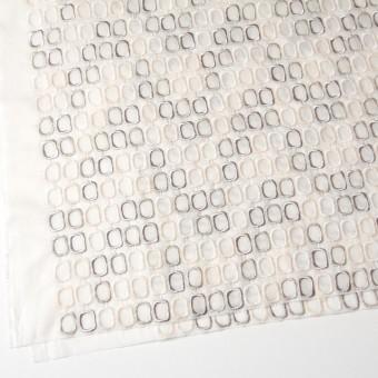 コットン×スクエア(オフホワイト)×ボイル刺繍_全2色 サムネイル2