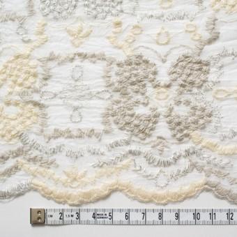 コットン×フラワー(オフホワイト)×ボイル刺繍_全4色 サムネイル4