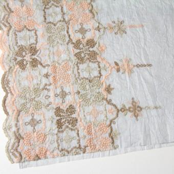 コットン×フラワー(ライトグレー)×ボイル刺繍_全4色 サムネイル2