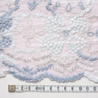 コットン×フラワー(グレイッシュピンク)×ボイル刺繍_全4色 サムネイル4