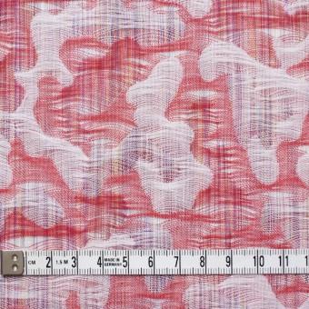 コットン×幾何学模様(レッド)×二重織ジャガード_全2色 サムネイル5