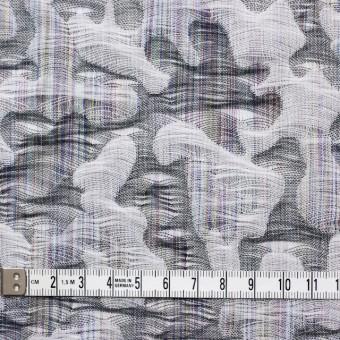 コットン×幾何学模様(グレー)×二重織ジャガード_全2色 サムネイル5