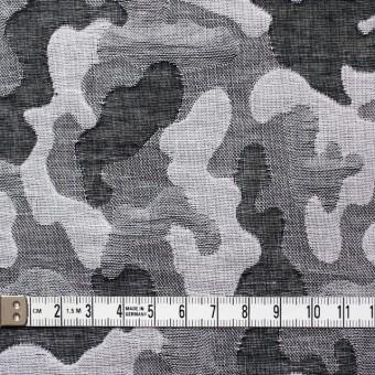 コットン×幾何学模様(ブラック&グレー)×二重織ジャガード サムネイル4