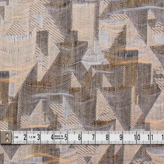 コットン×幾何学模様(モカミックス)×二重織ジャガード イメージ4